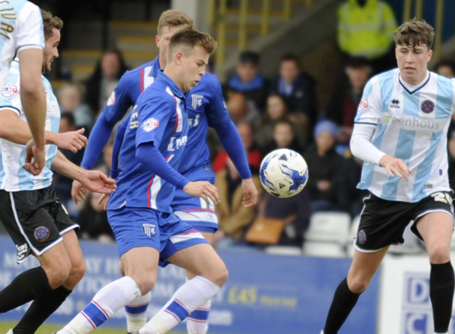 Gillingham v Shrewsbury Town - in pictures