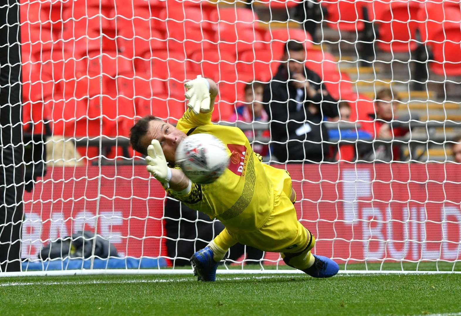 Report: Millers beaten at Wembley