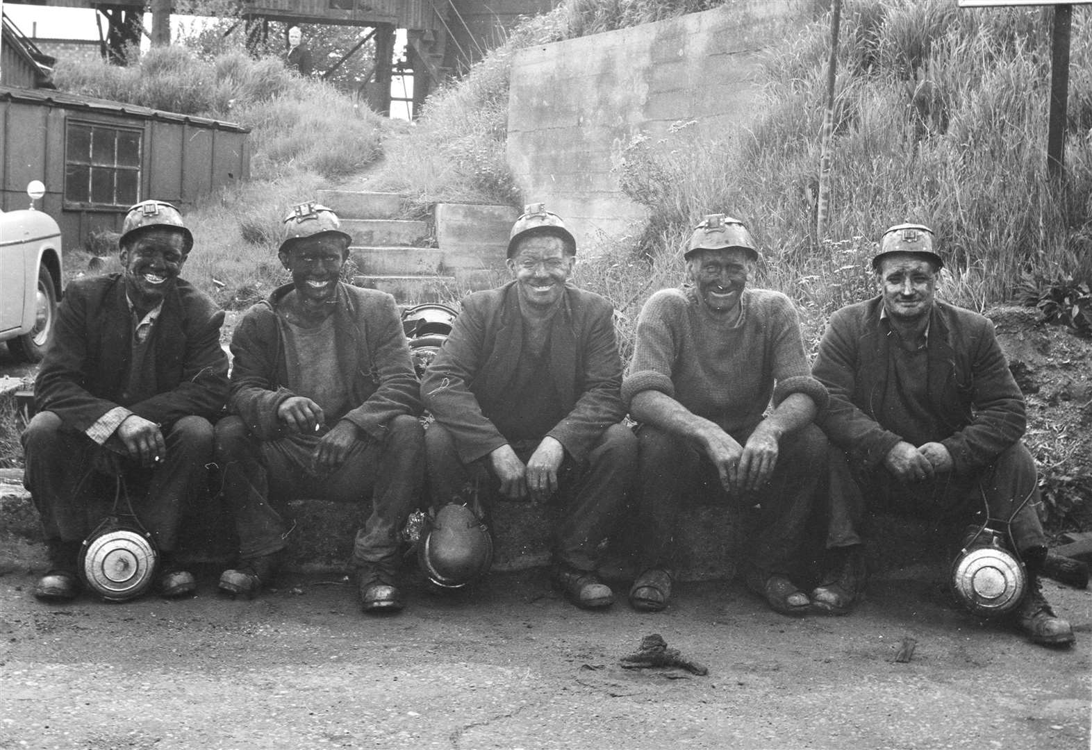 Reunion of former Kent miners