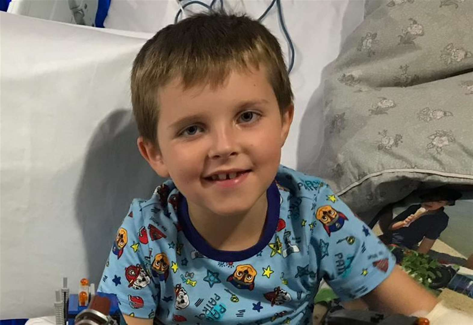 Family's grief as boy, 6, dies just weeks after diagnosis