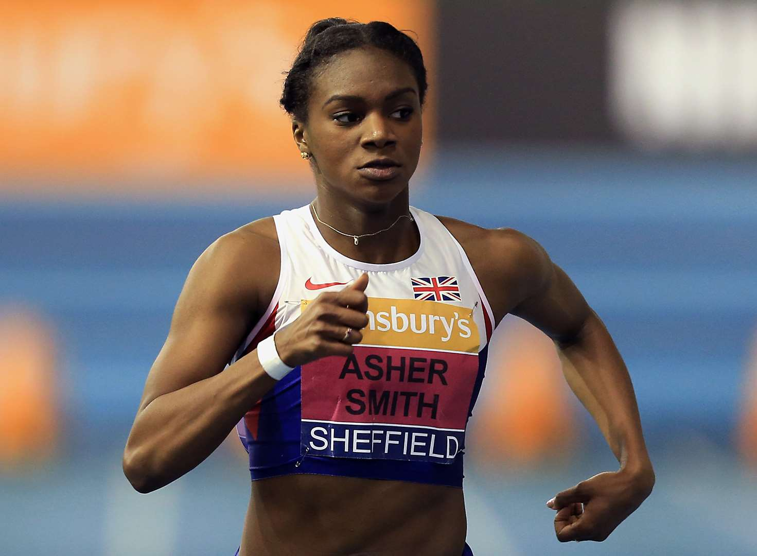 Medal joy for Asher-Smith