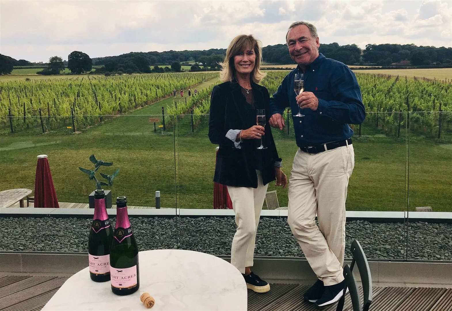Winemaker in the pink with new fizz launch