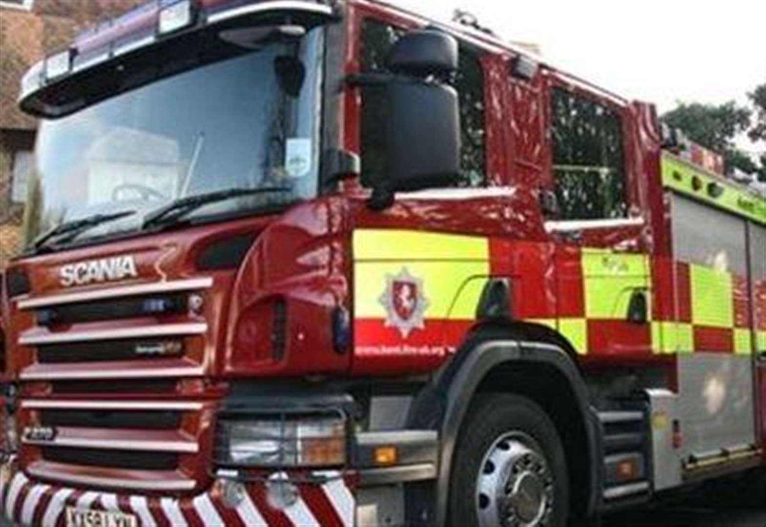 Car fire causes delays