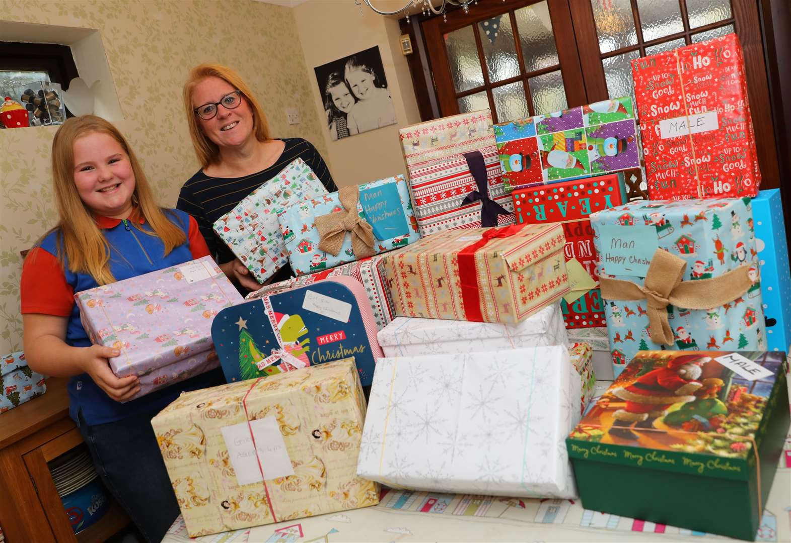 Family's appeal for gifts for homeless