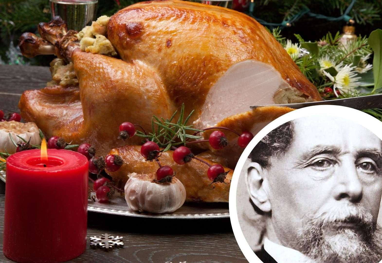 Did Dickens spend his last Christmas turkey-less?
