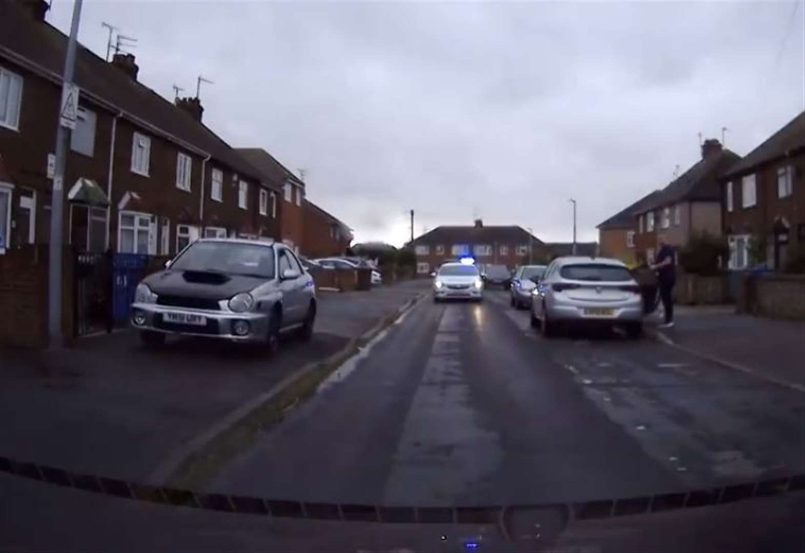 Teenager arrested after police chase