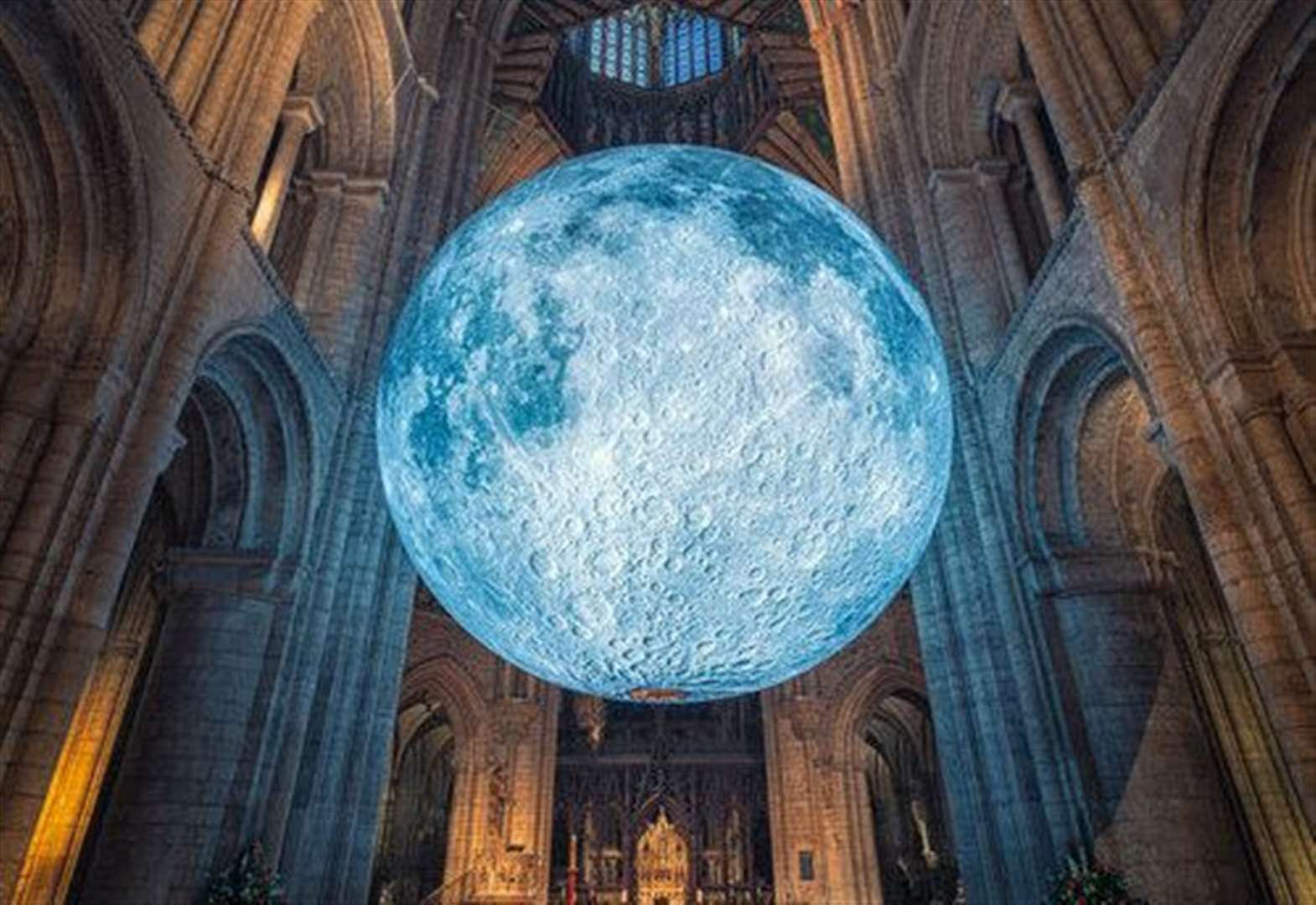 Cathedral exhibition is out of this world