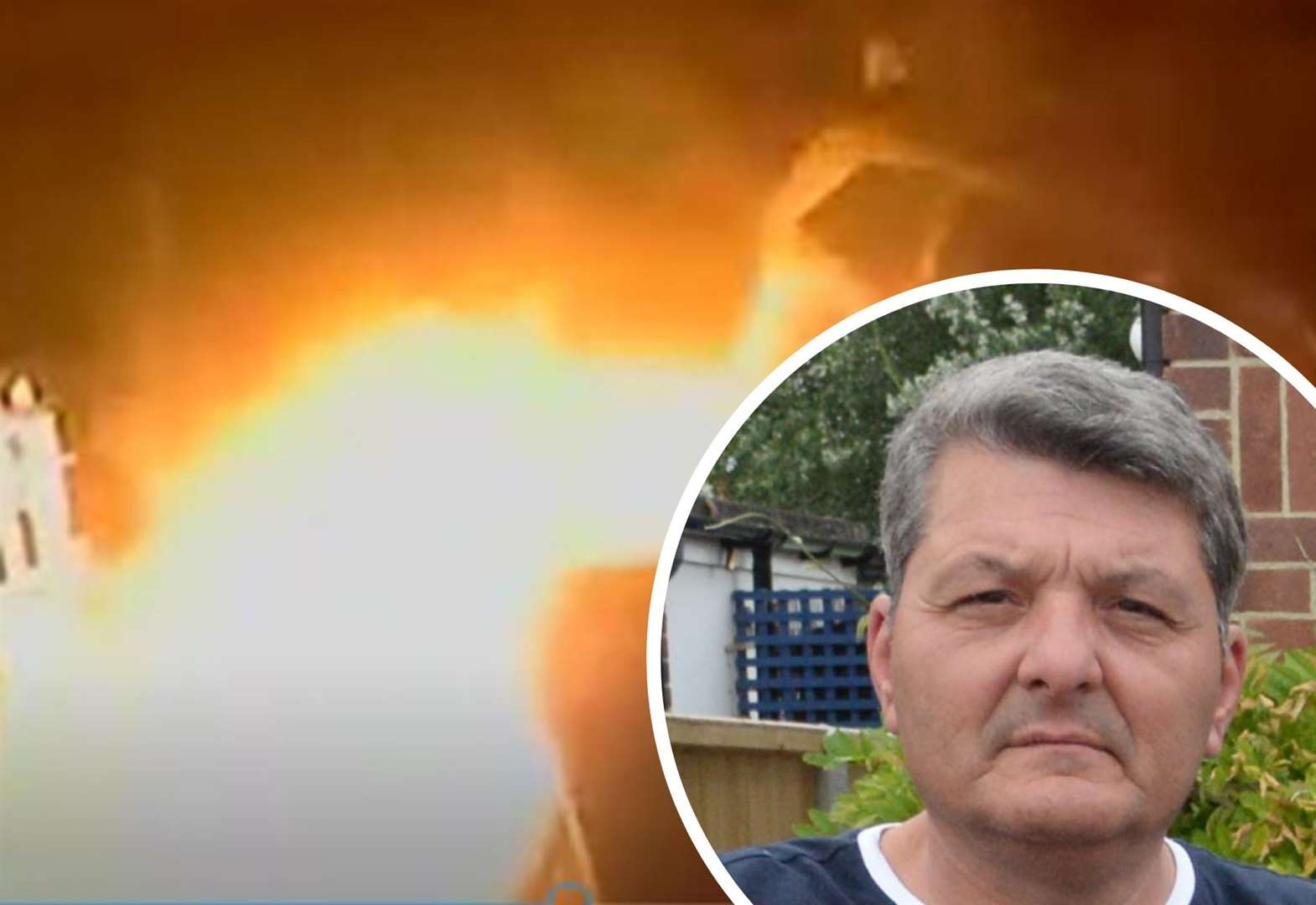 Dad fears 'lunatic' arsonist on loose