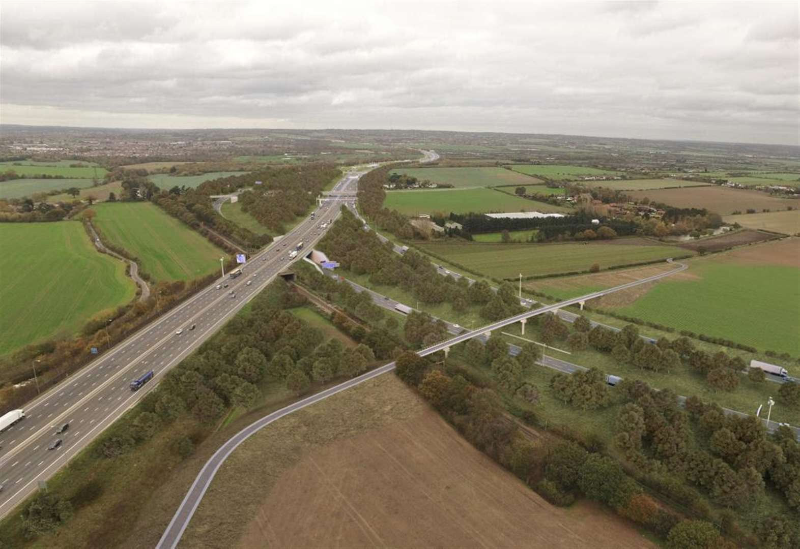 Crossing the 'biggest road project since the M25'