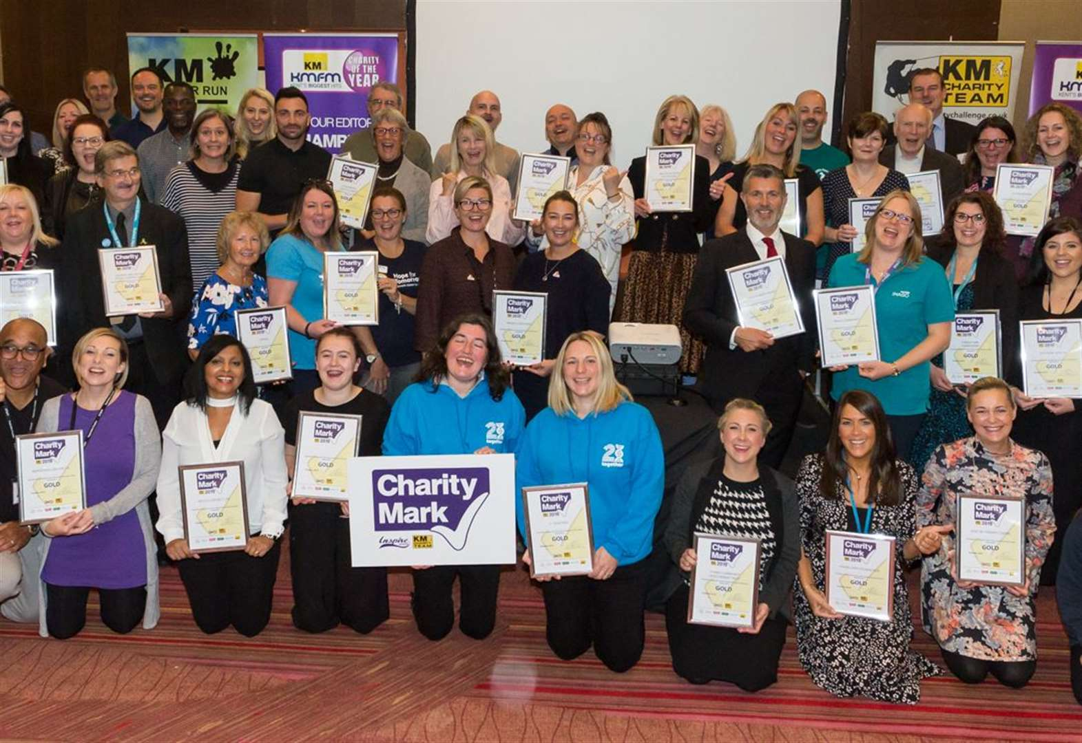 Charities make their mark