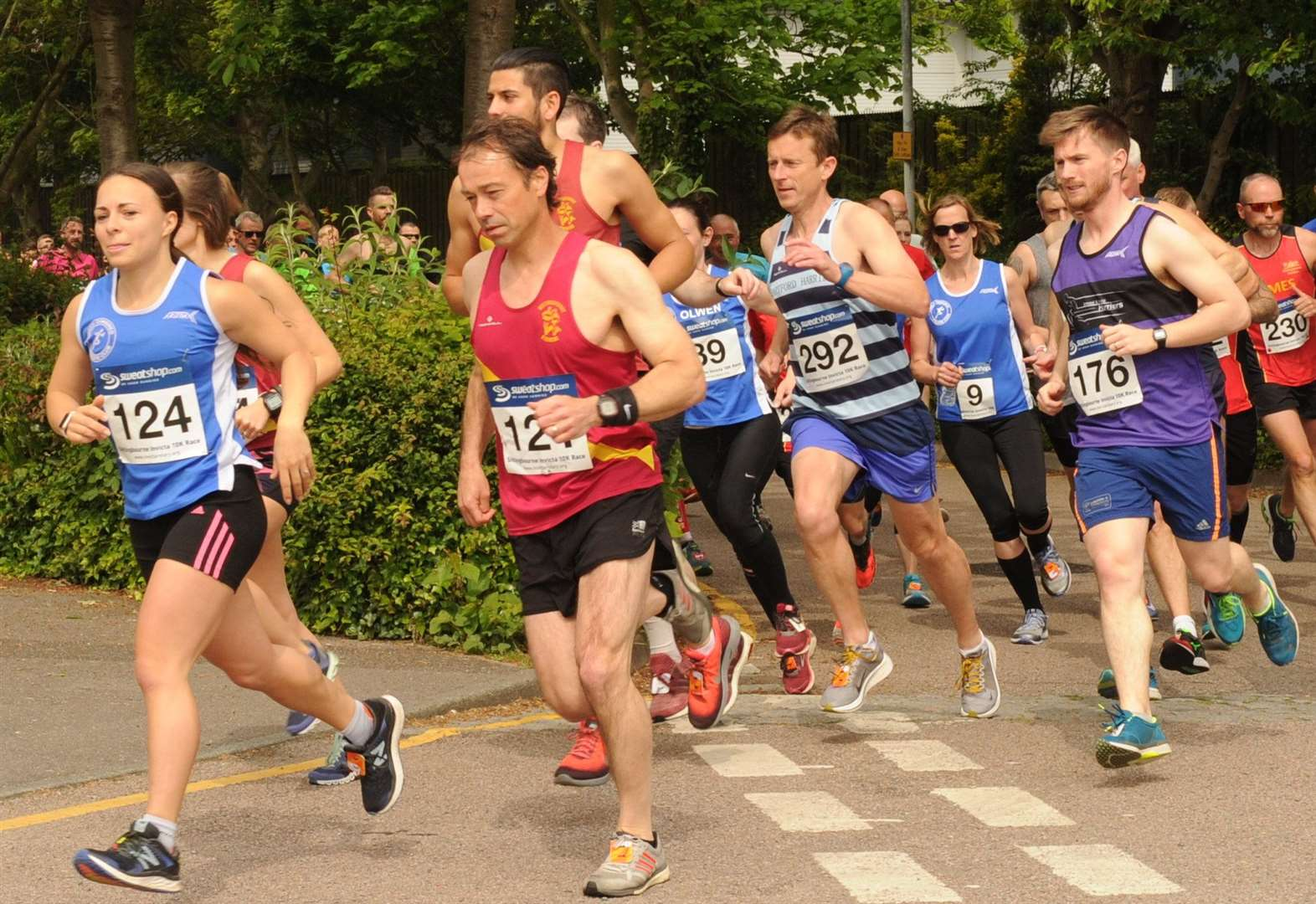Sittingbourne 10k - top 10 pictures