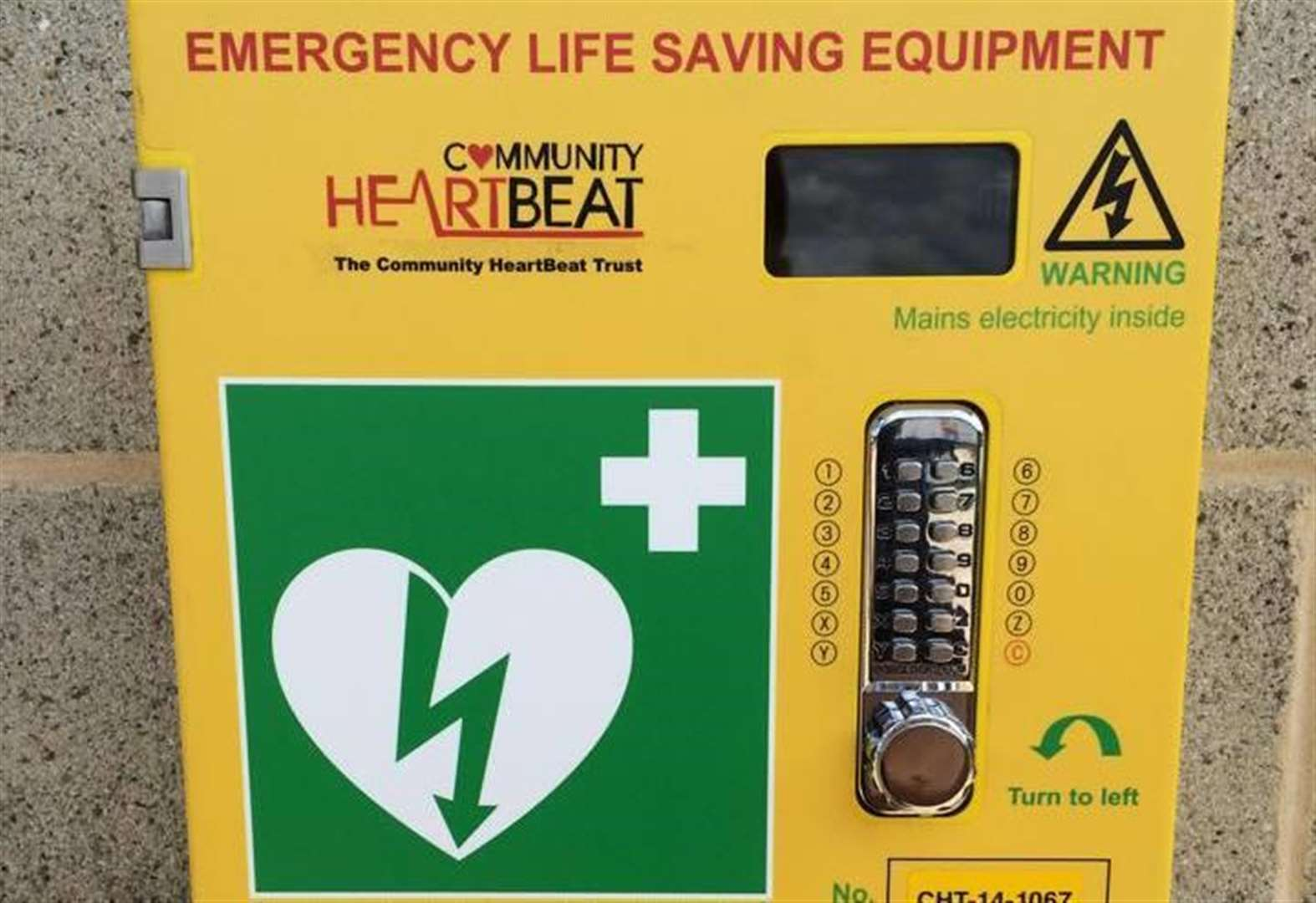 Drama as defibrillator used to save man after street collapse
