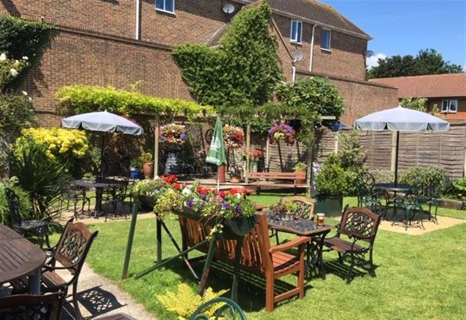 Secret Drinker unearths 'Kent's best pub garden'