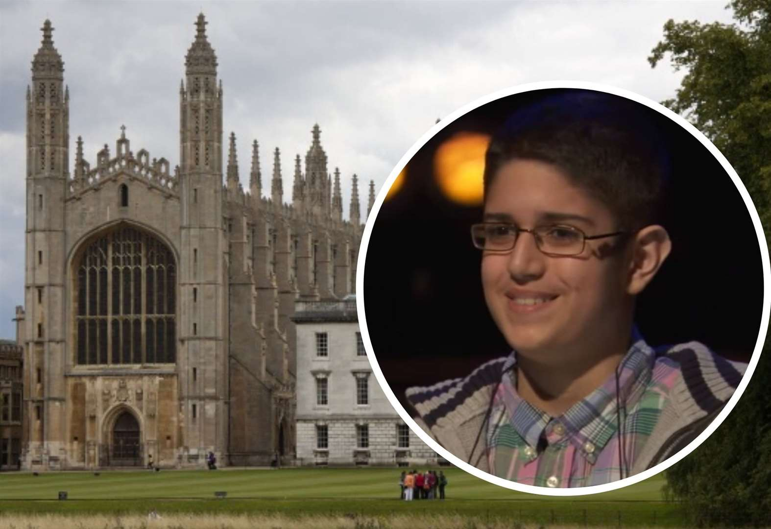 Child genius gets Cambridge interview