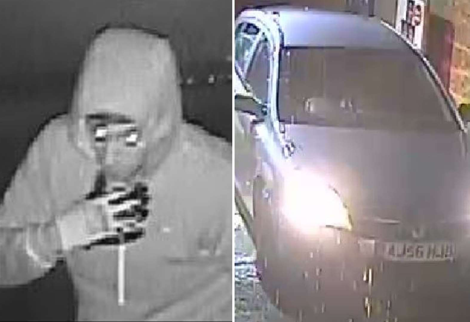 CCTV images released after petrol station raid