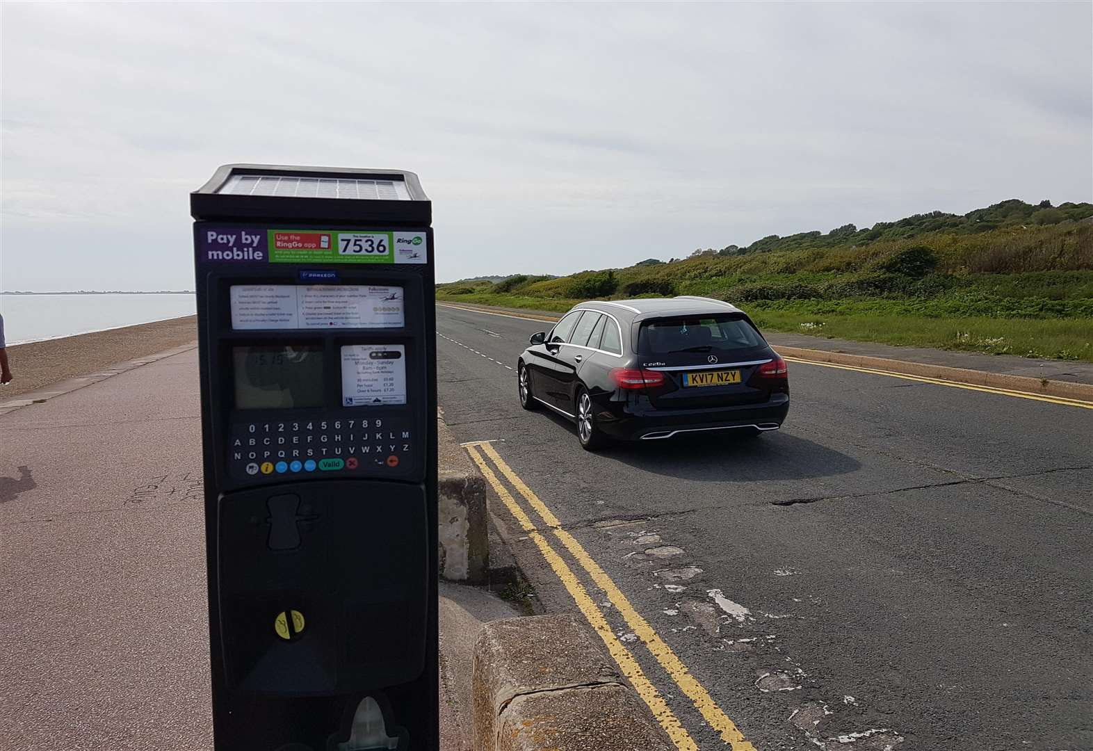 Seafront parking charges rake in thousands