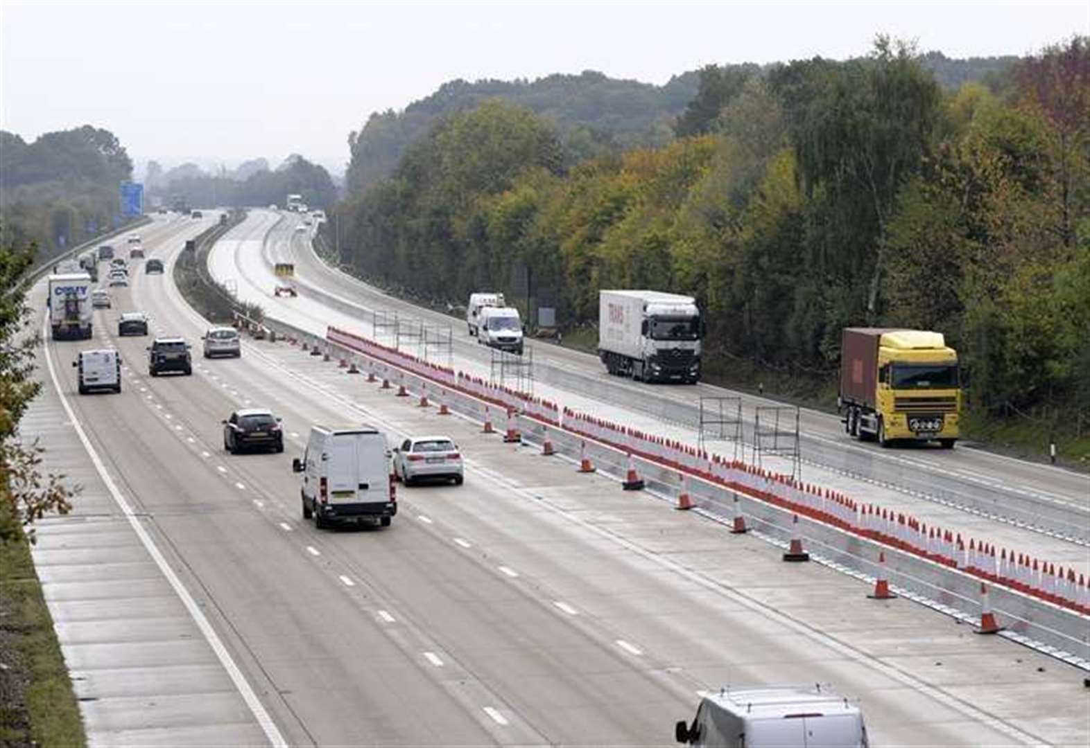 Work starting to dismantle M20 barrier