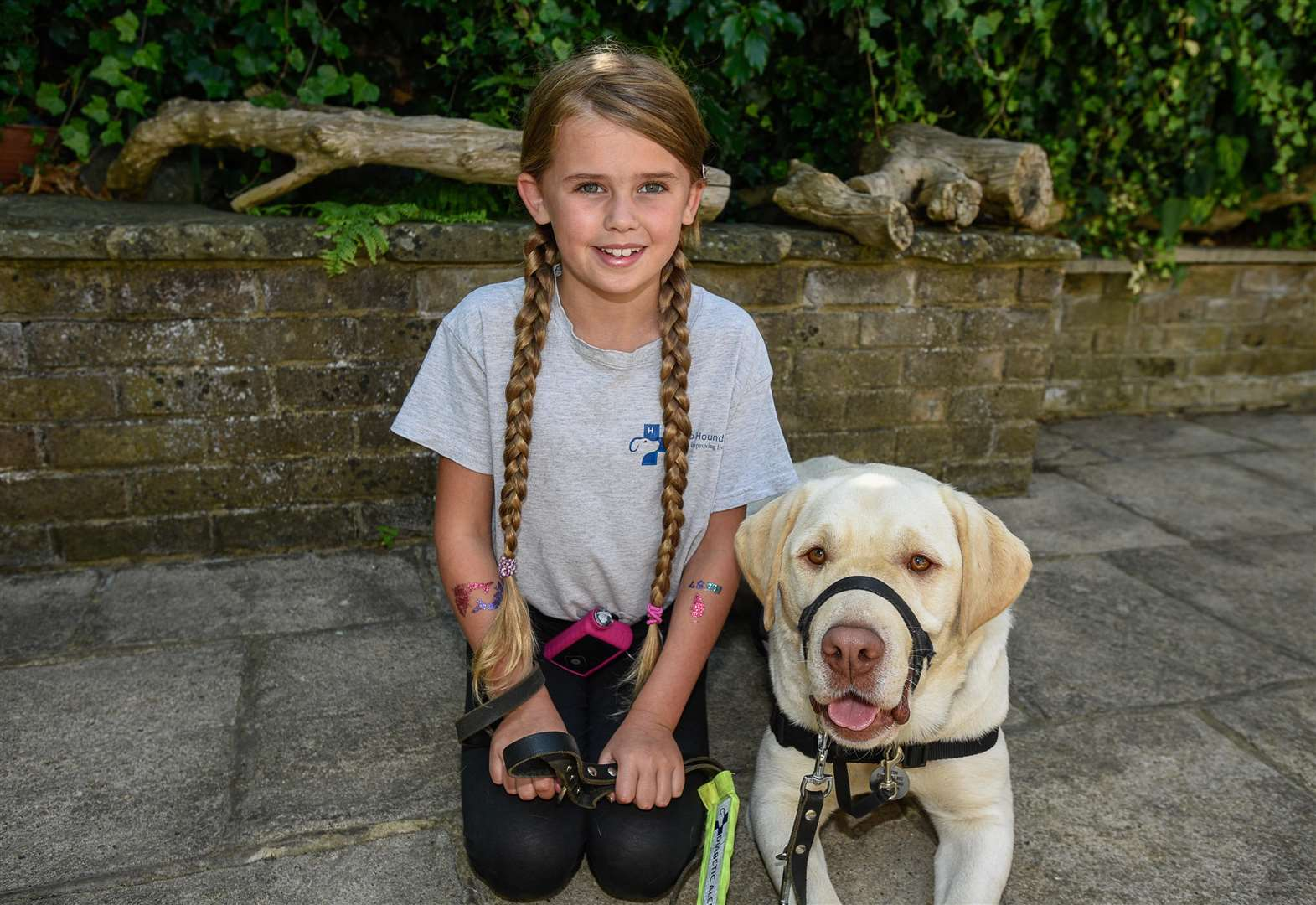 Diabetic girl's family launch fundraiser for life-saving dog