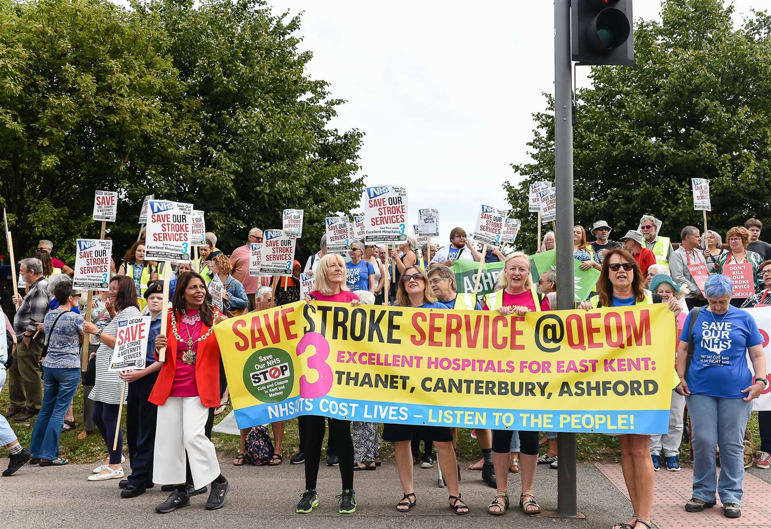 Public 'duped' over stroke unit closure