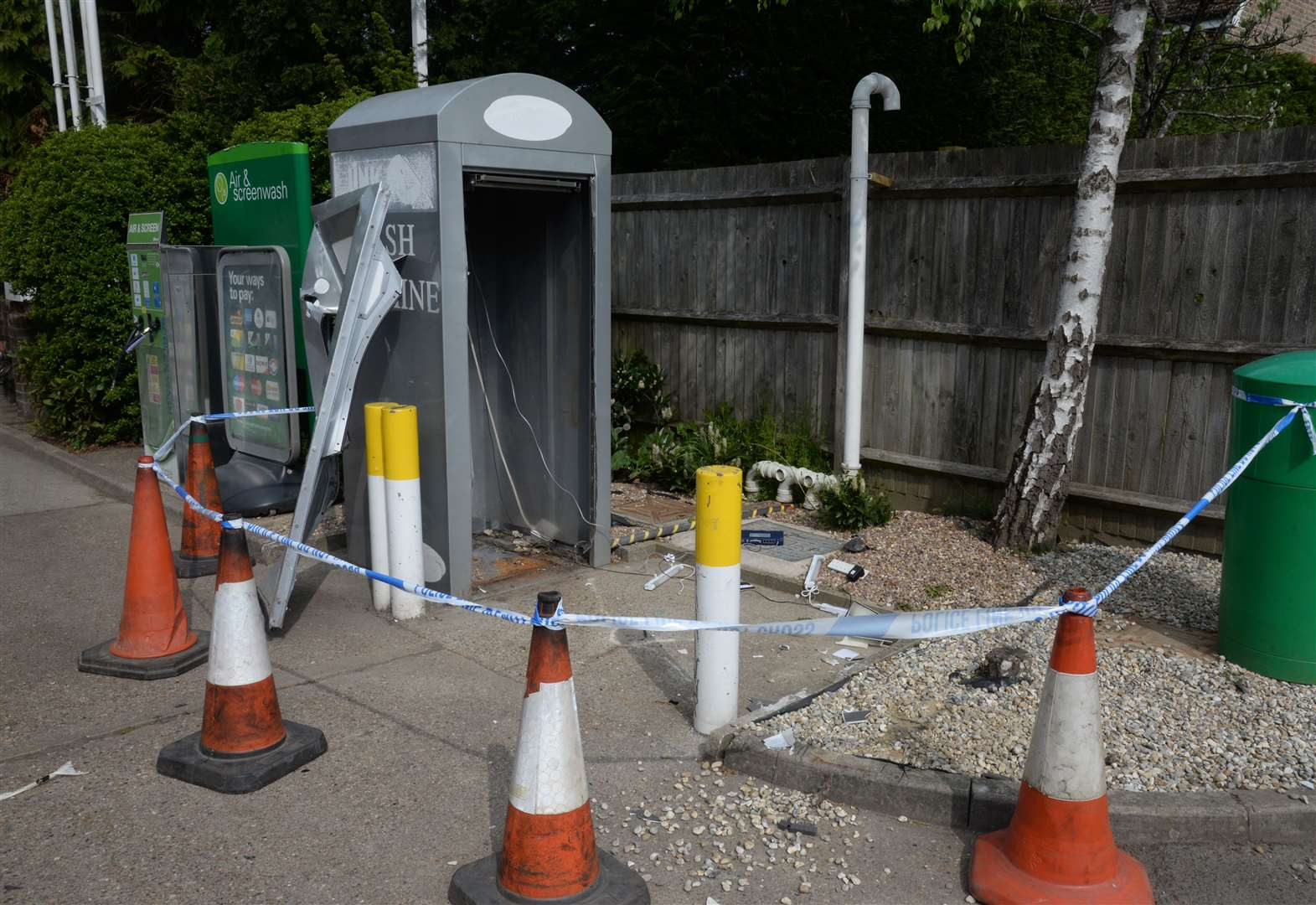 Police appeal after cash machine theft