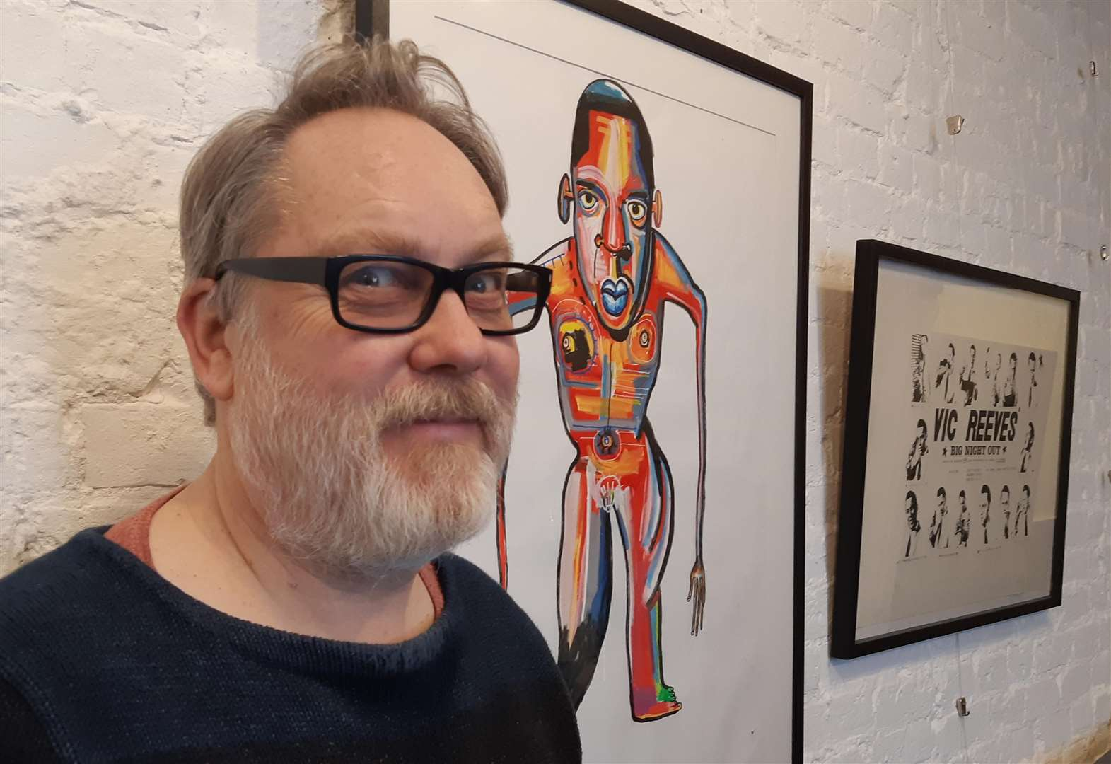 Props go on show at Vic and Bob's Big Night Art