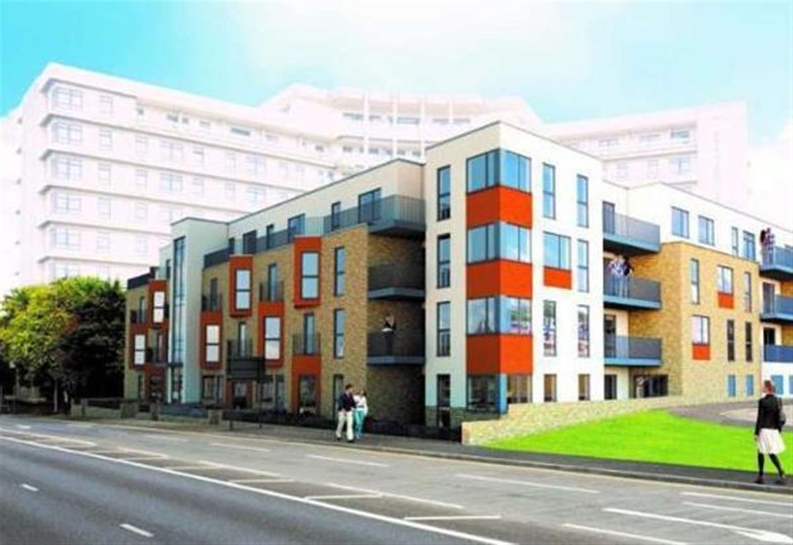 110 flats set to be finished this year