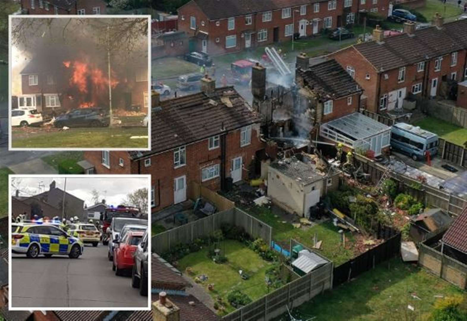 Seven injured as house destroyed in explosion