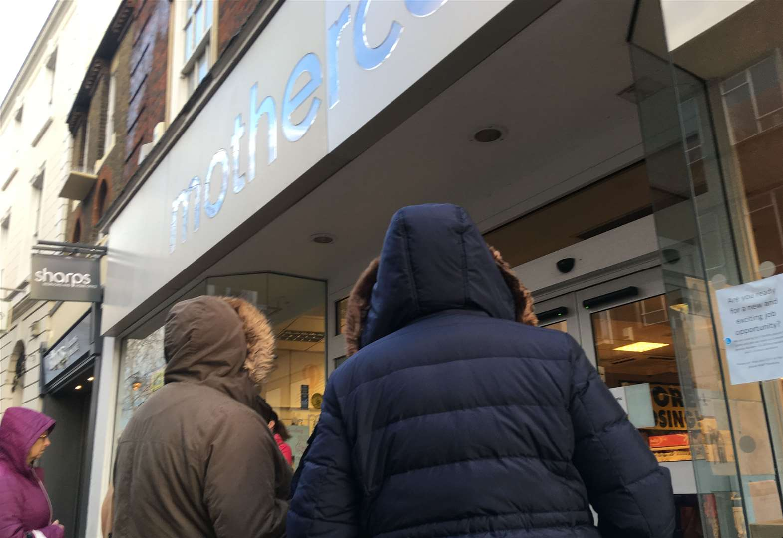 'Massive' Mothercare closing down sale begins