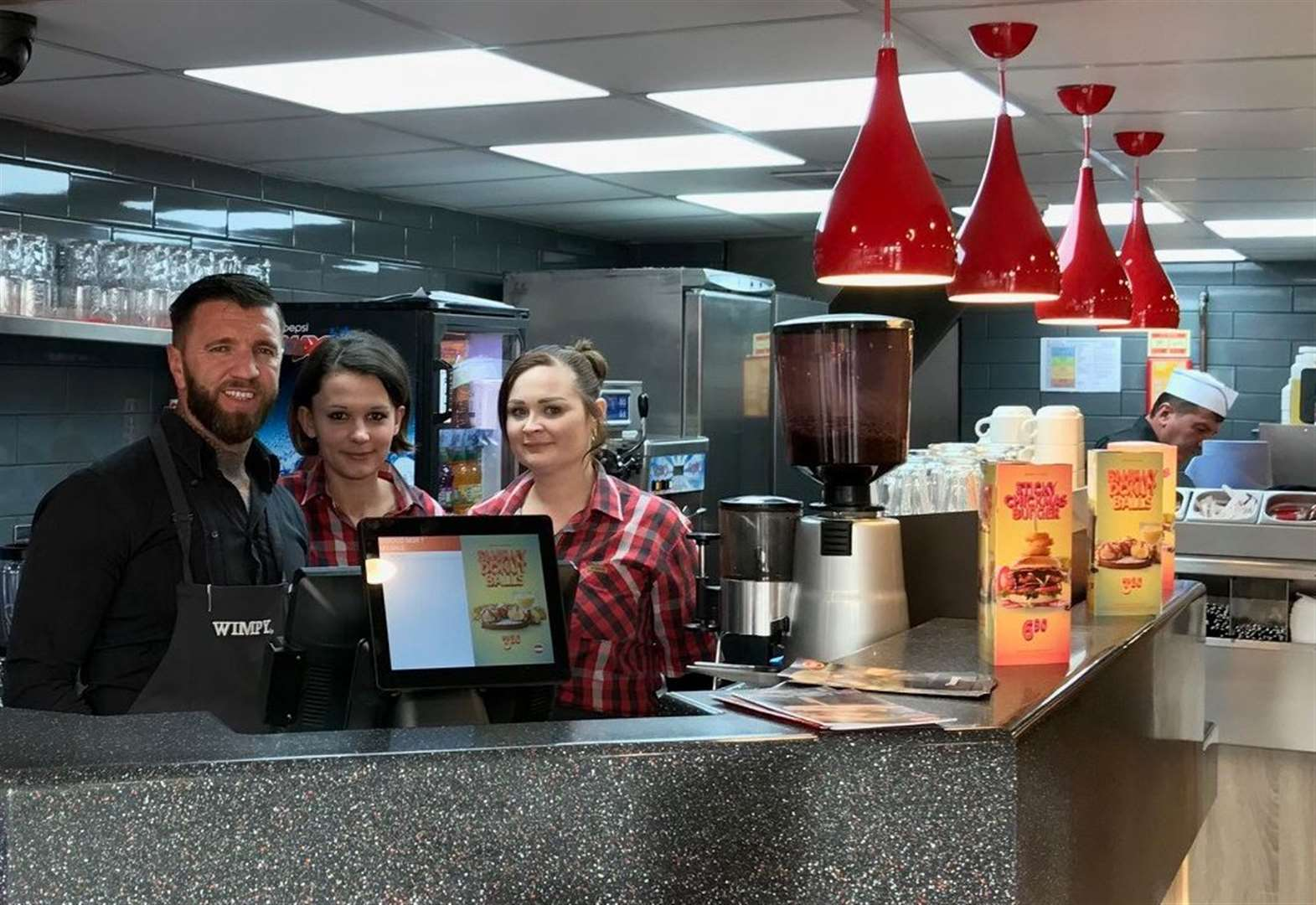 First look inside revamped Wimpy