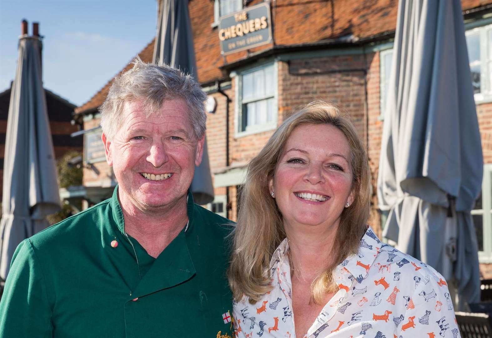 Couple swap life in sun to take over village pub