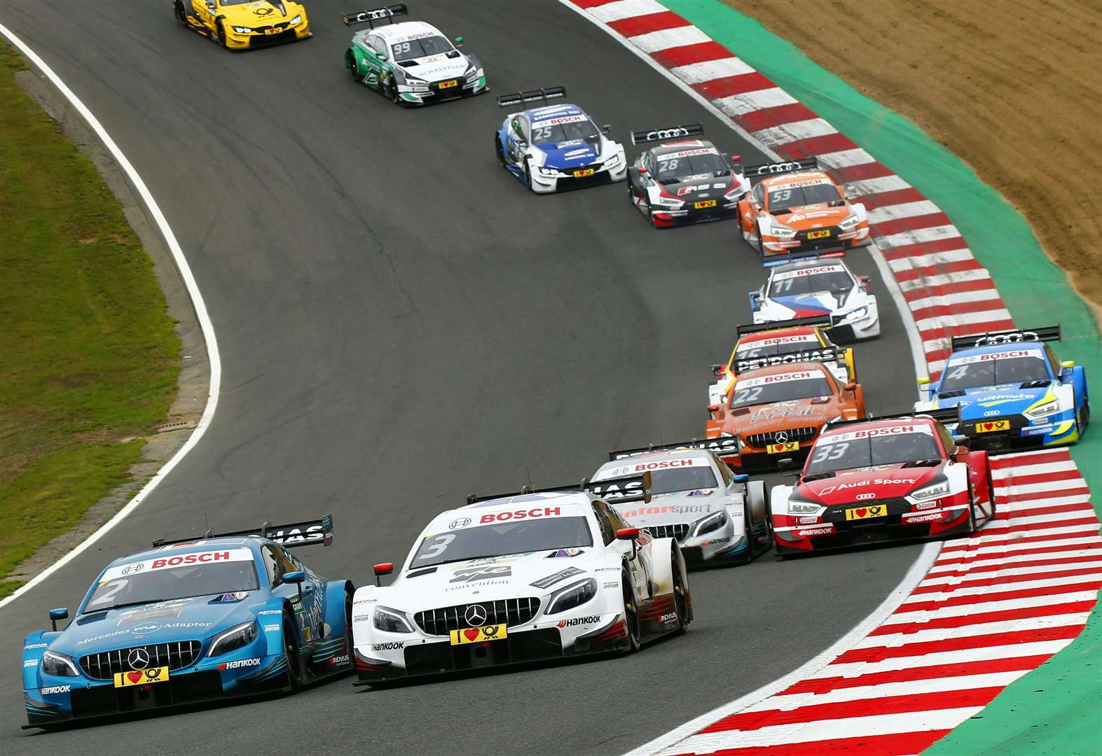 German touring cars return to Brands