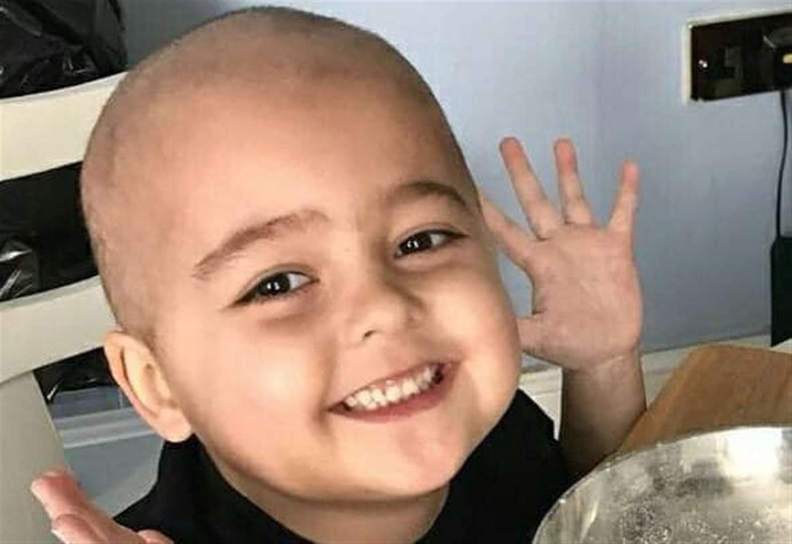 Boy, 8, with six months to live gets community backing