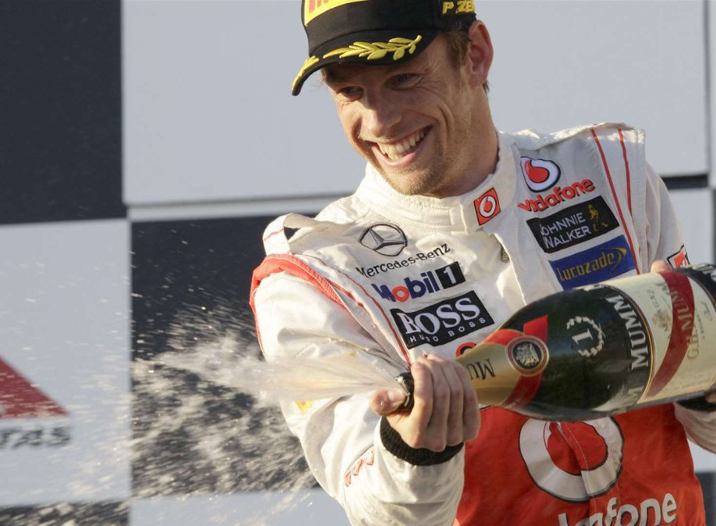 Racing driving legend Jenson Button to visit the county