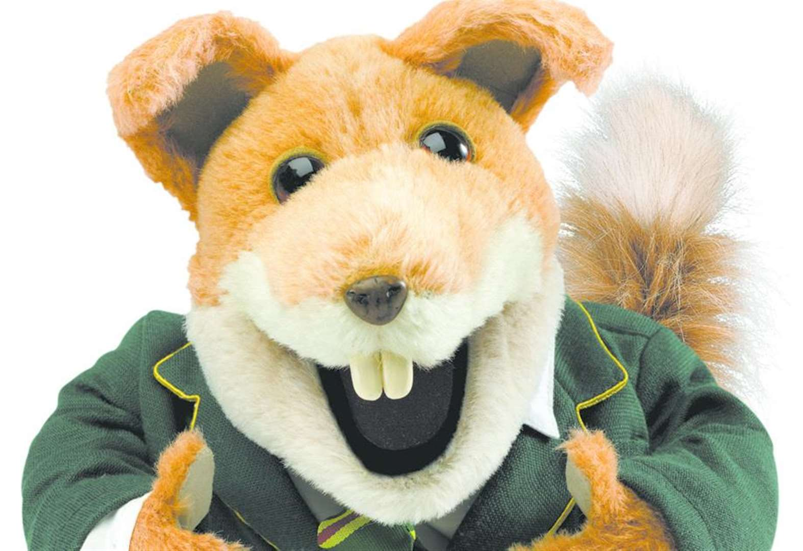 Watch out X Factor - here comes Basil Brush