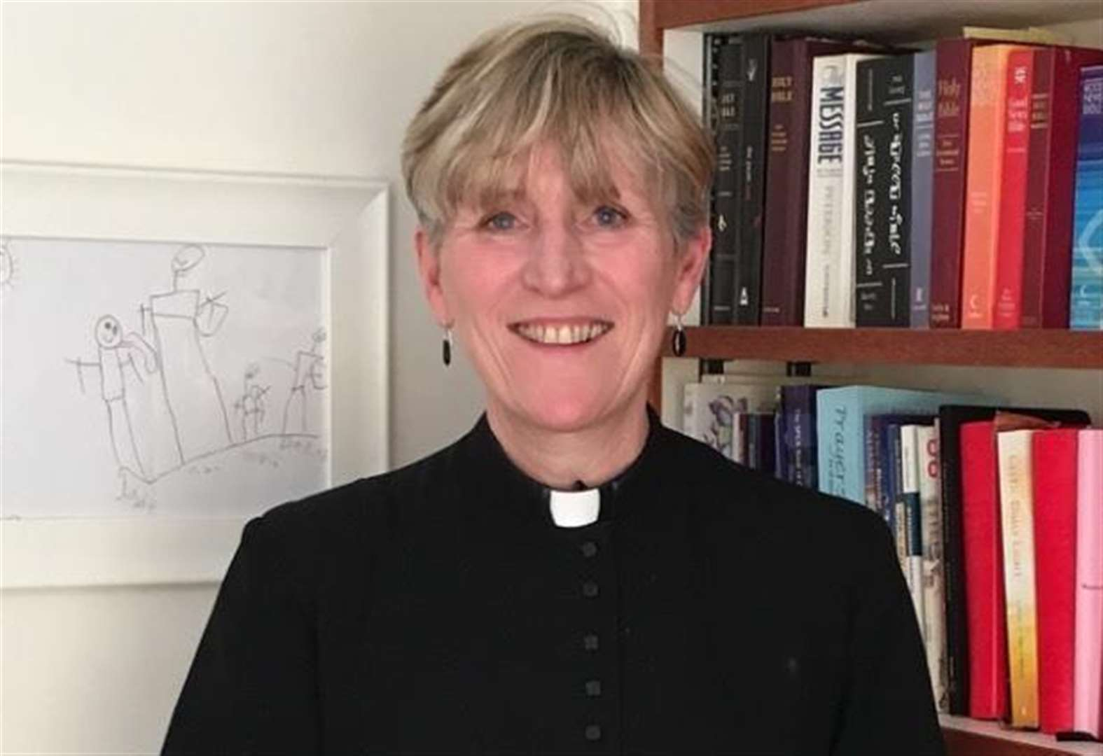 First woman priest in charge leaves role