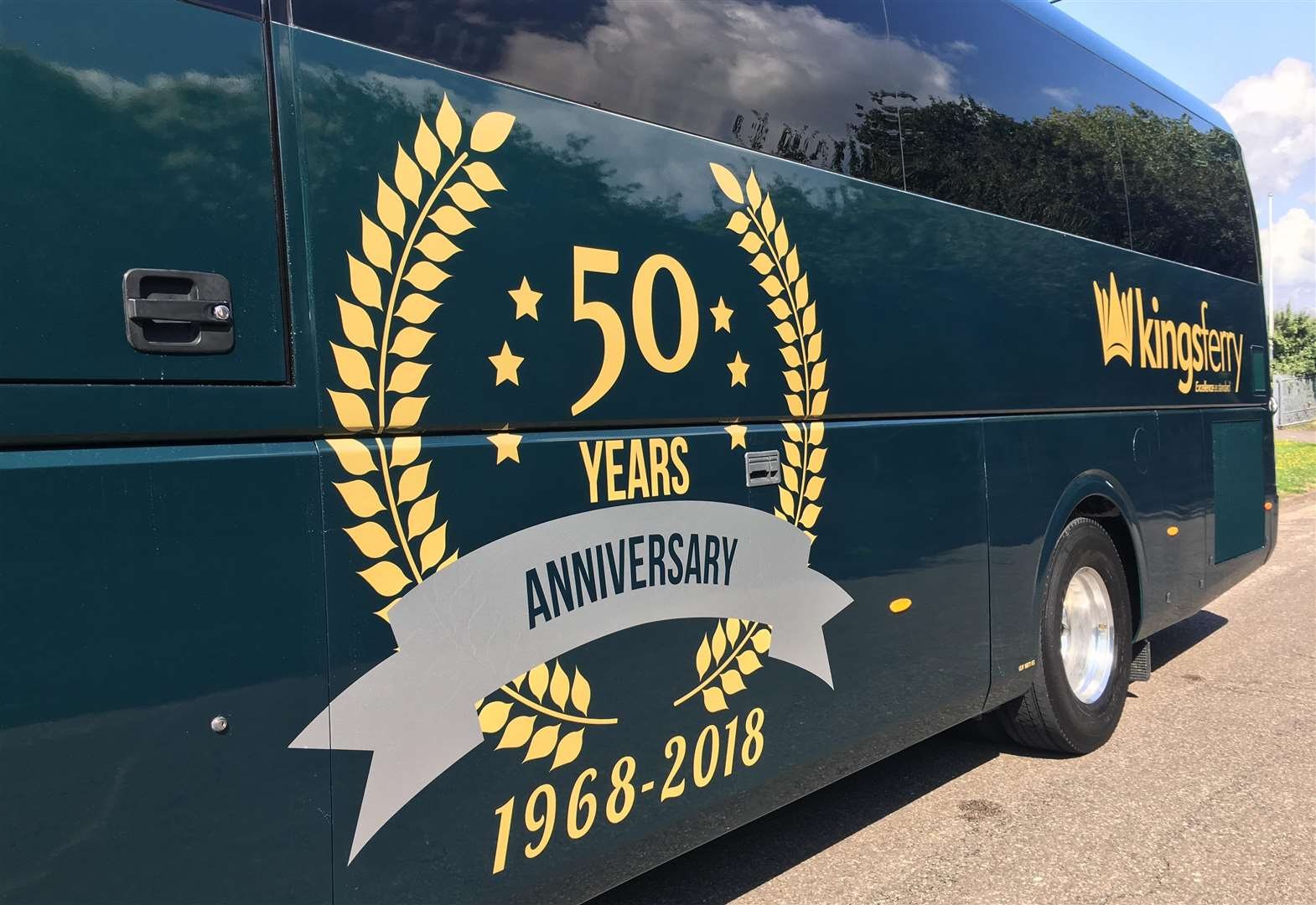 Coach firm marks its 50th anniversary