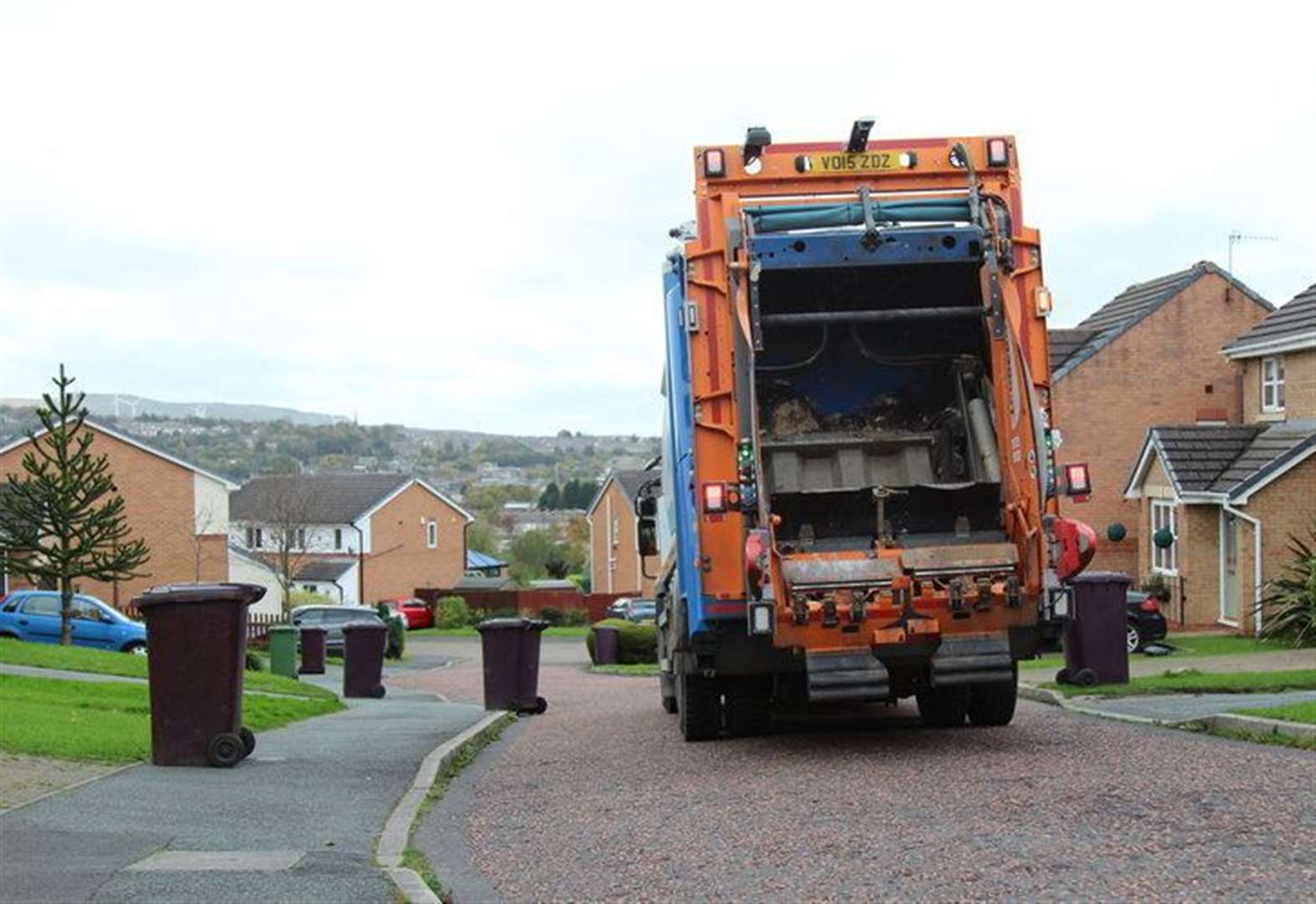 Bin collector fined over collection 'fiasco'