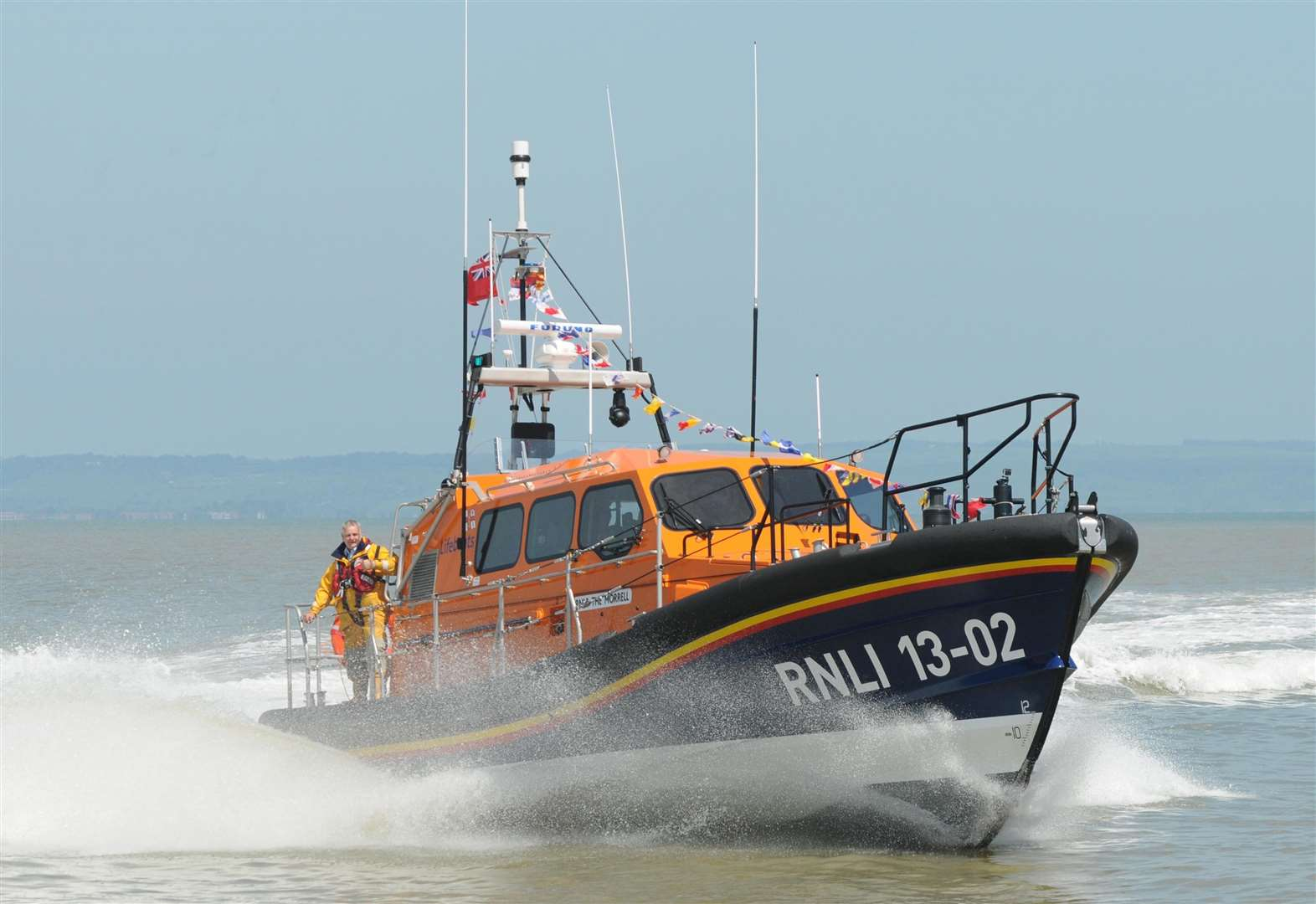 Sea rescue after yacht and ship crash