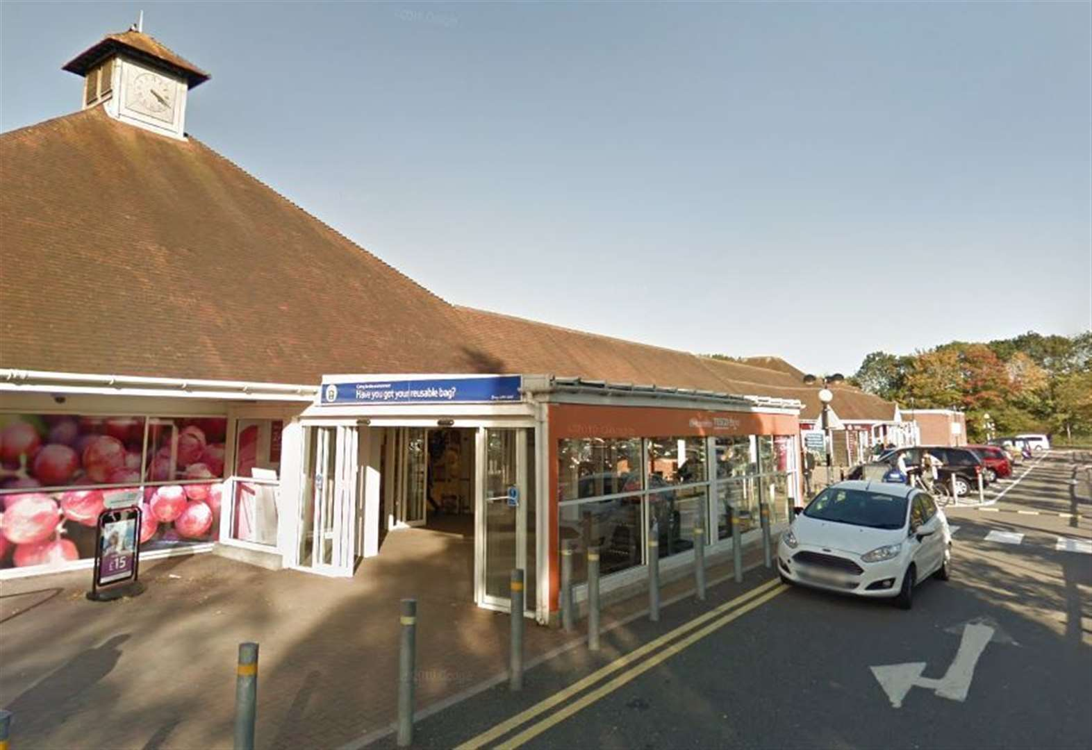 Supermarket ATM 'tampered with'