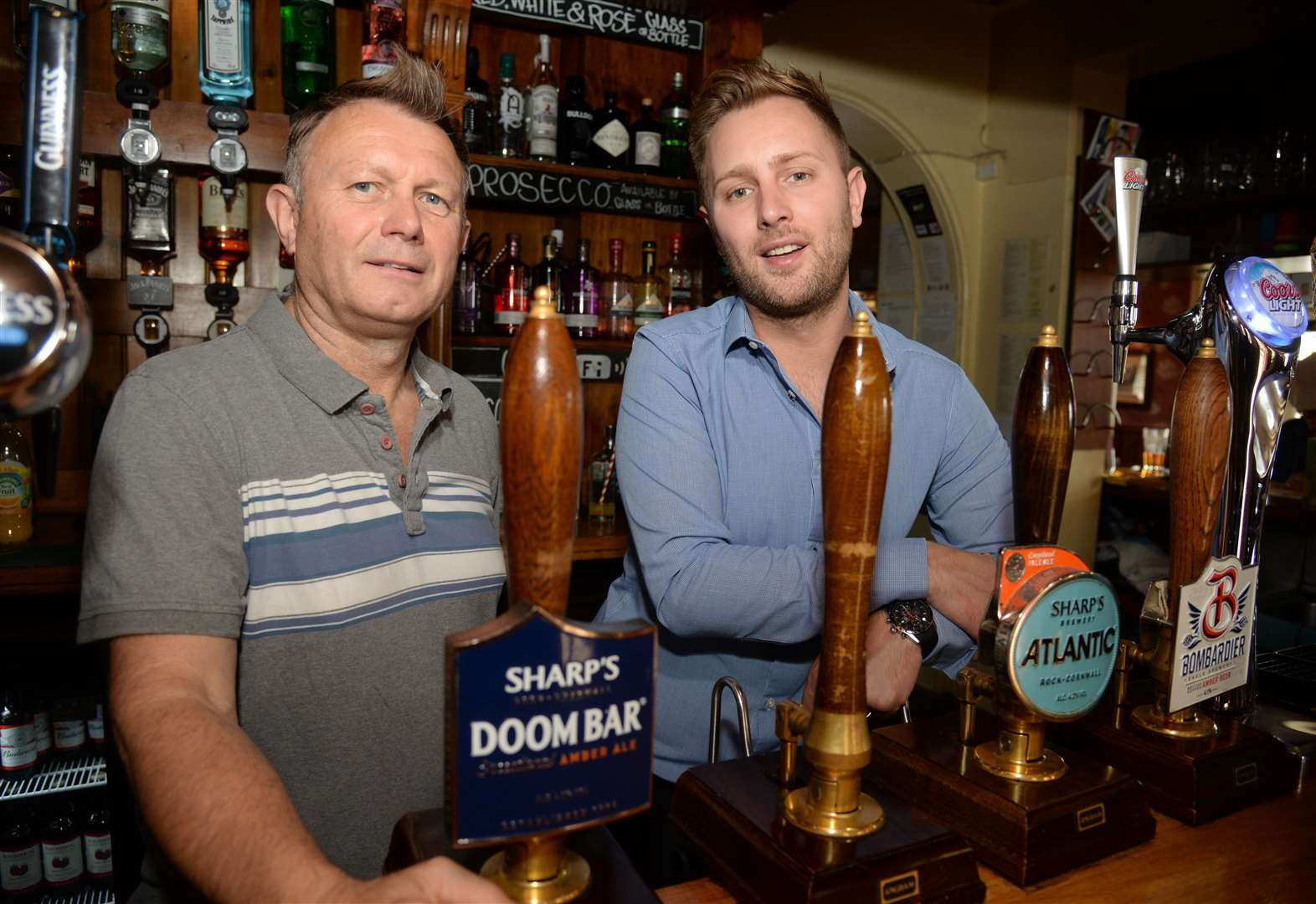 20 years behind the bar for the Krays