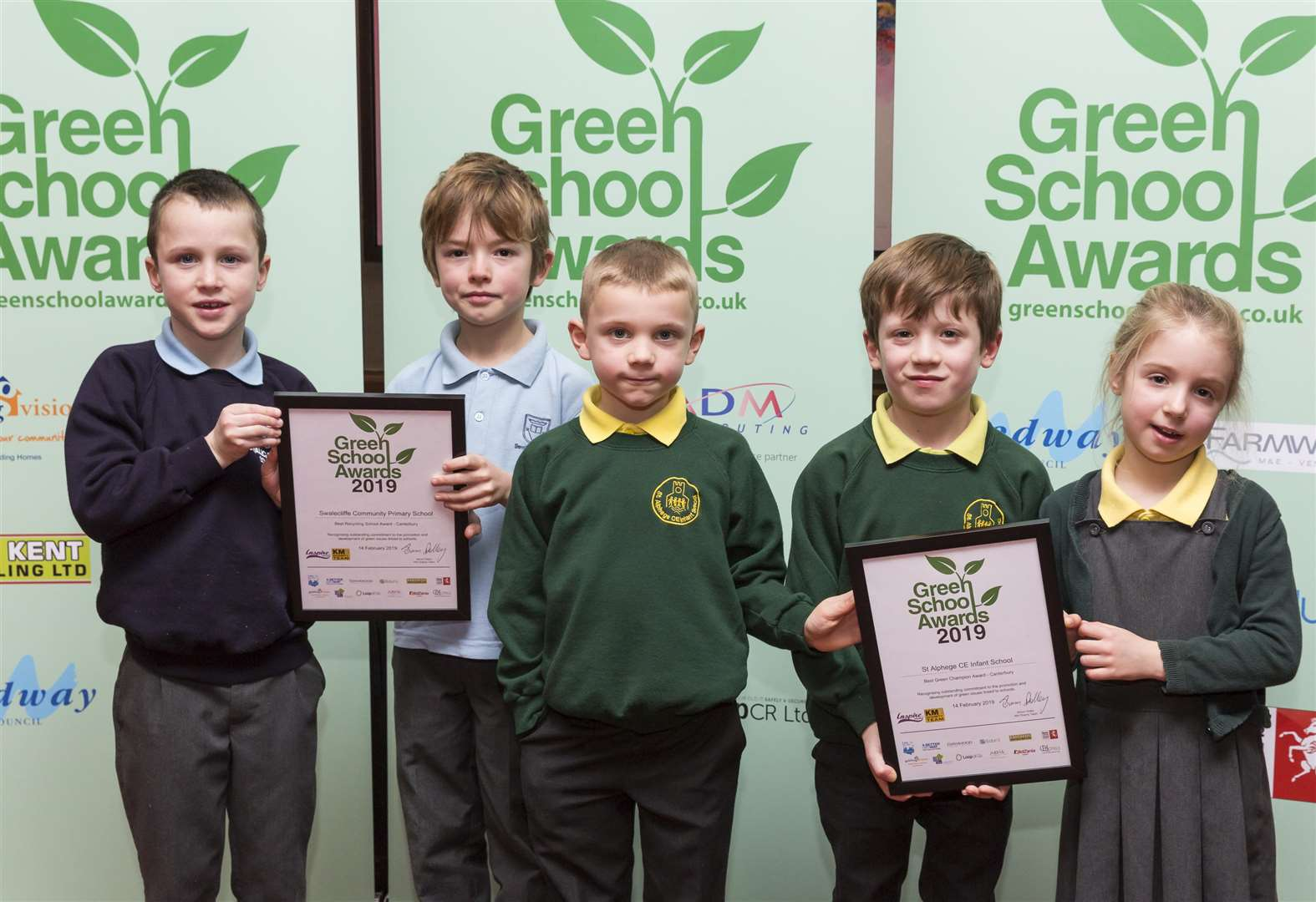 Awards praise eco-friendly schools