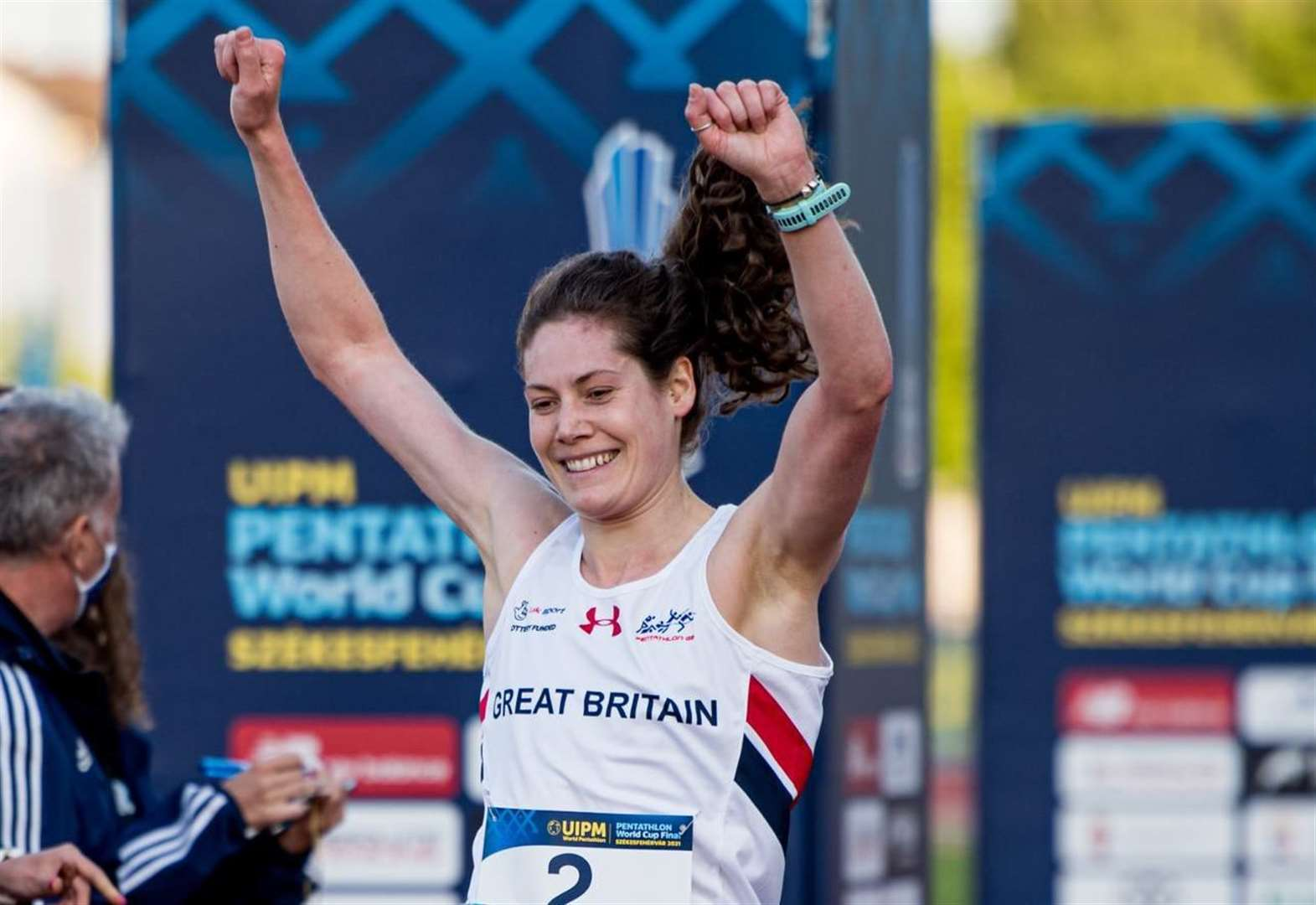 World Cup win for Olympic pentathlon hopeful