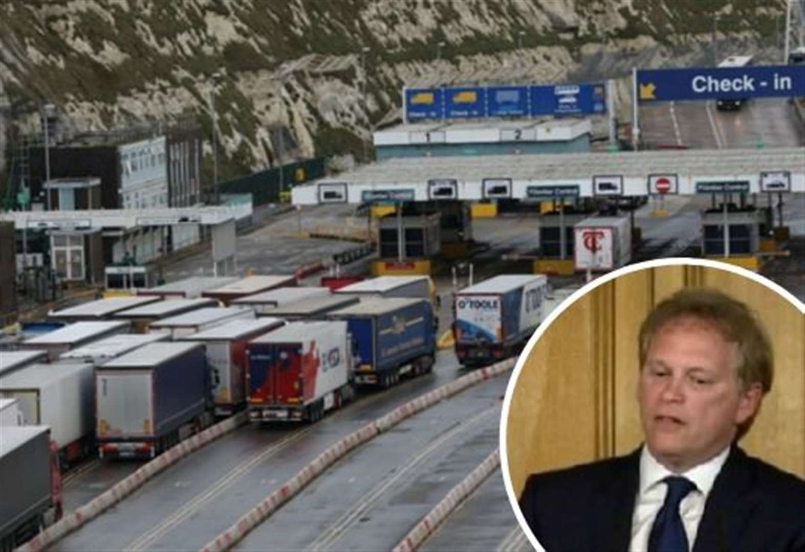 Brexit fears on gridlock in Kent 'unfounded'