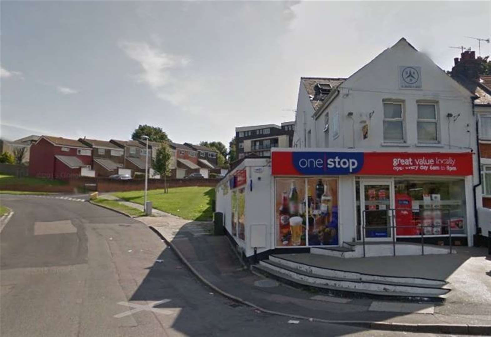 Armed robbery at corner shop