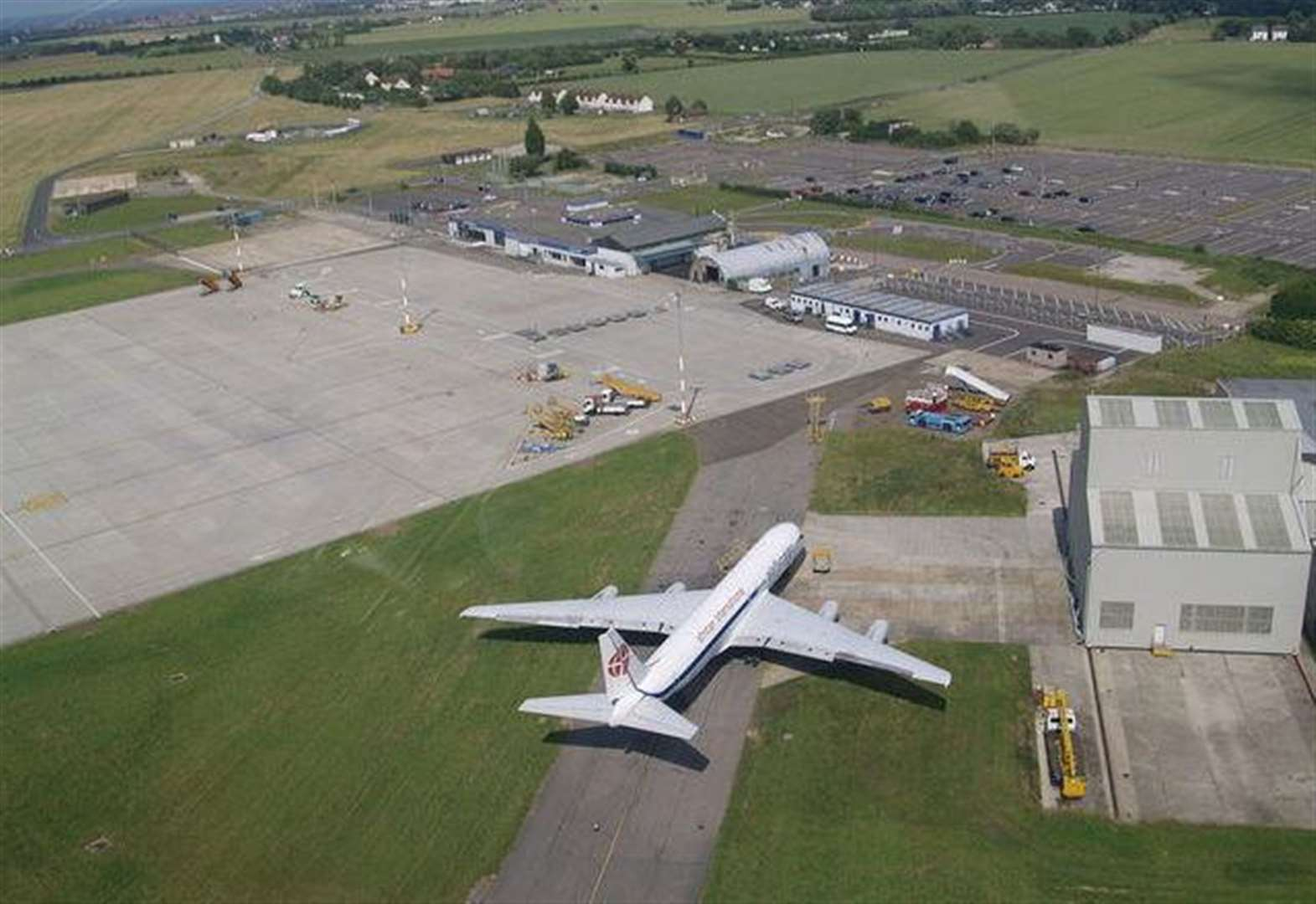 Manston Airport plan talks continue