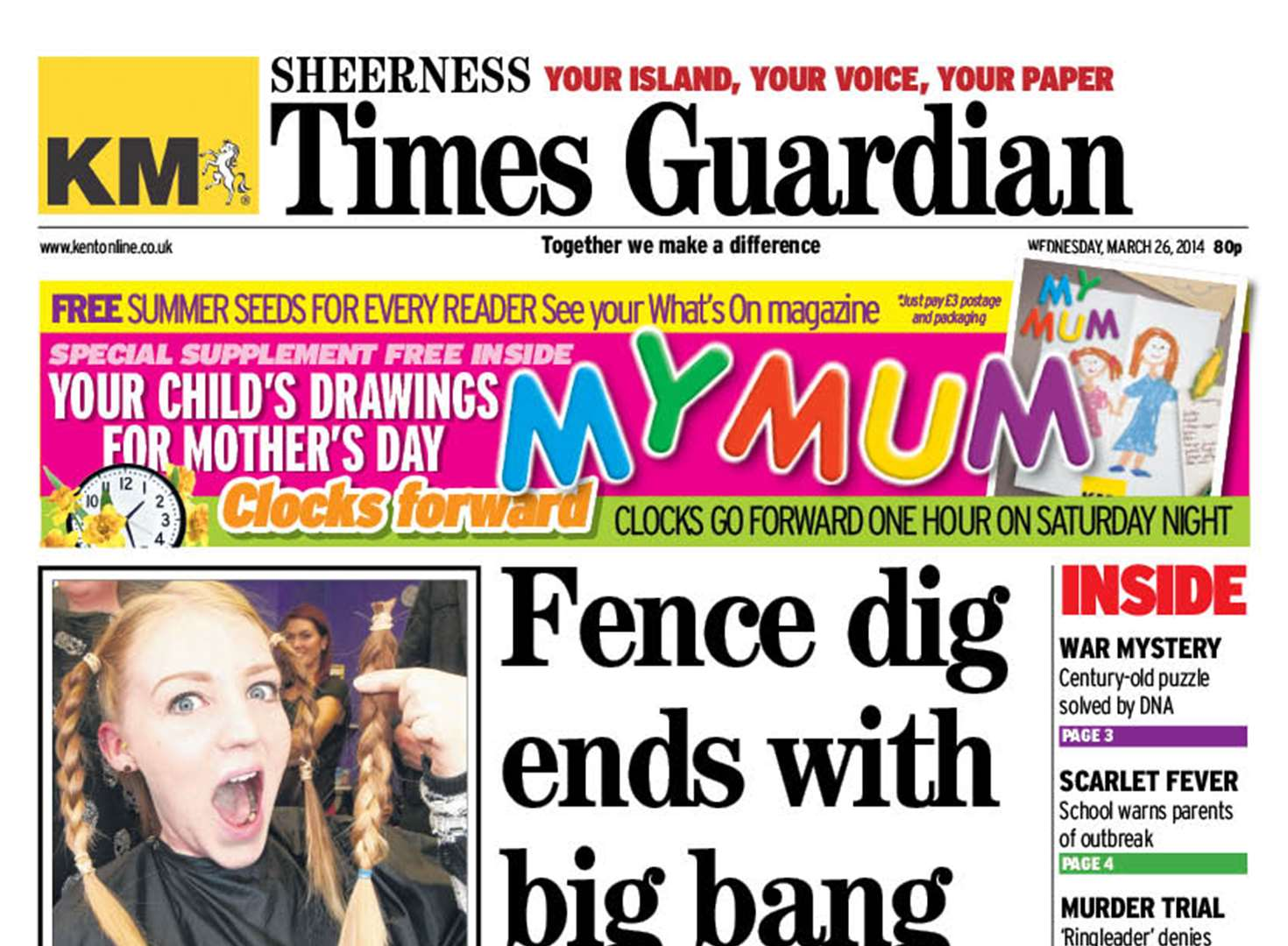 Inside this week's Sheerness Times Guardian
