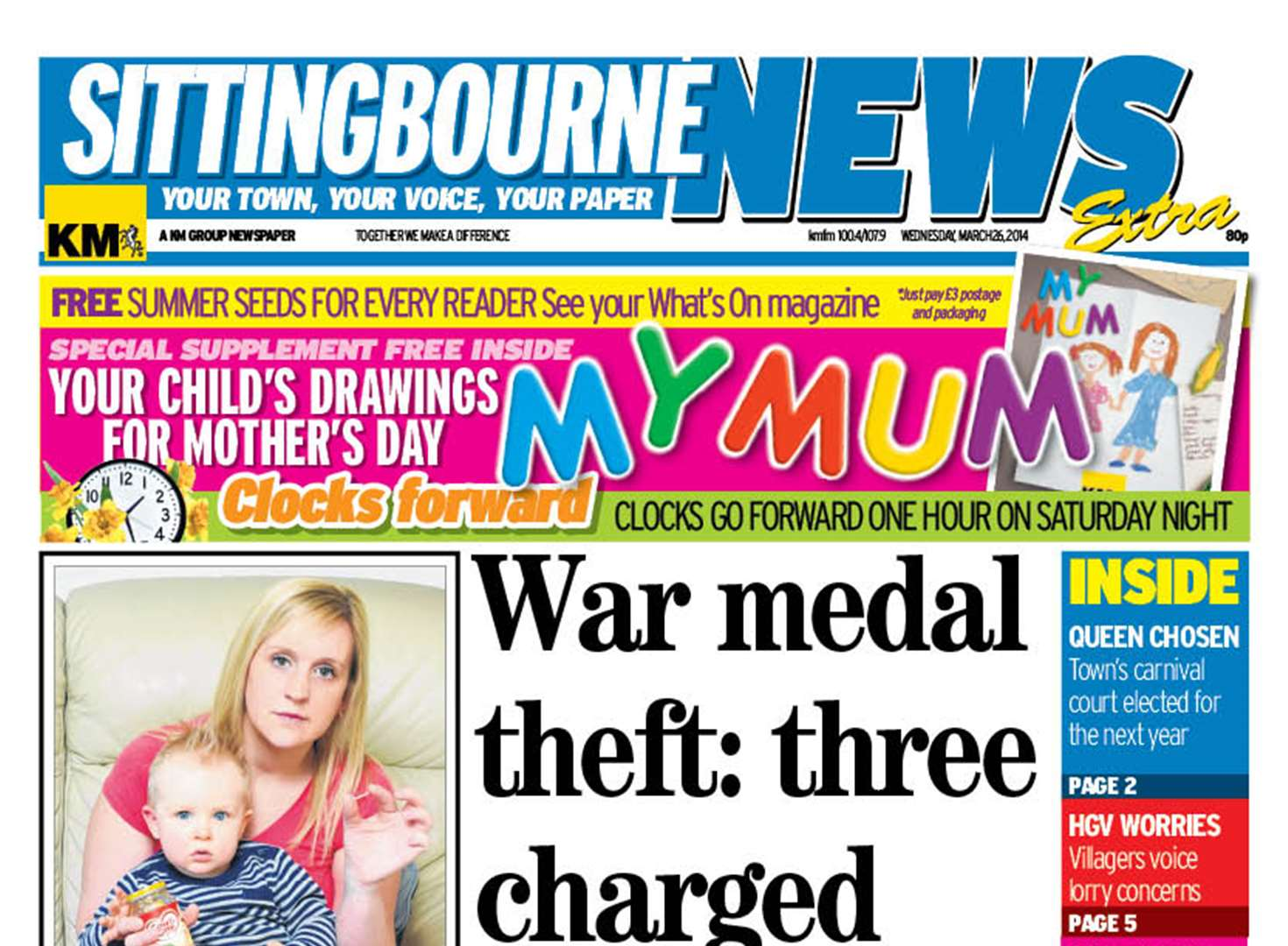 Inside this week's Sittingbourne News Extra