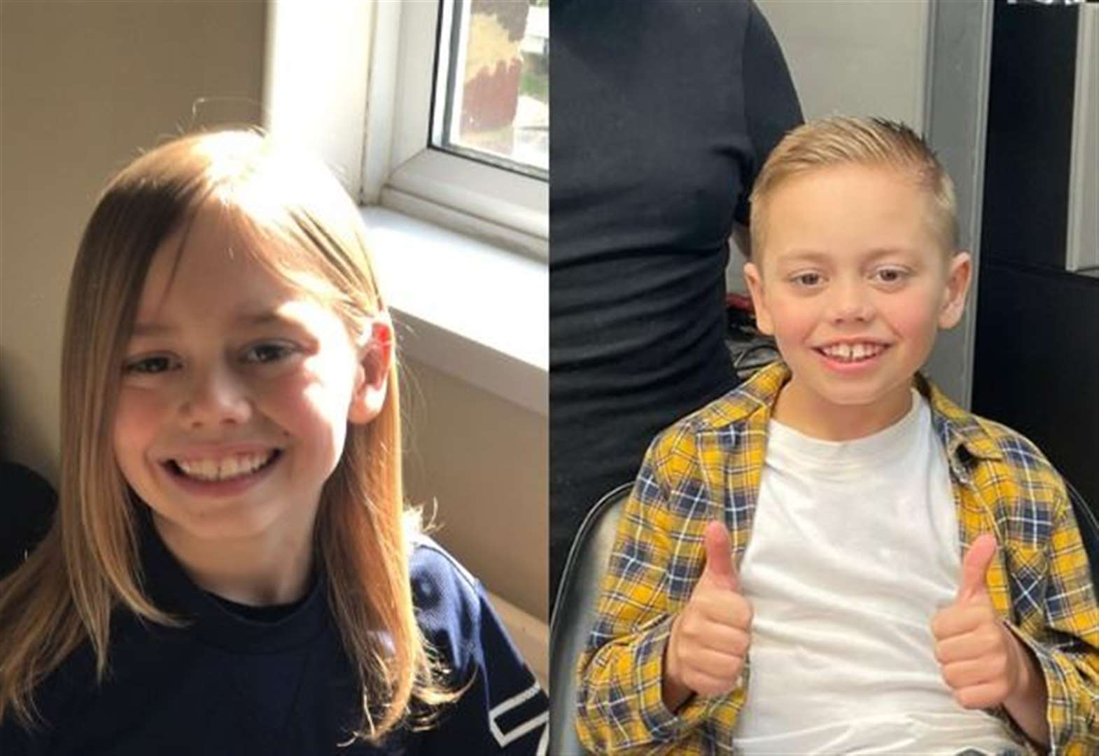 Boy, 8, donates hair to charity