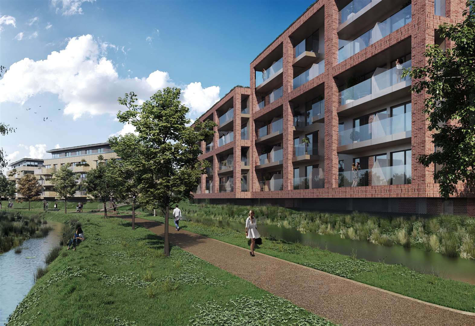 Changes to plans for 234 flats