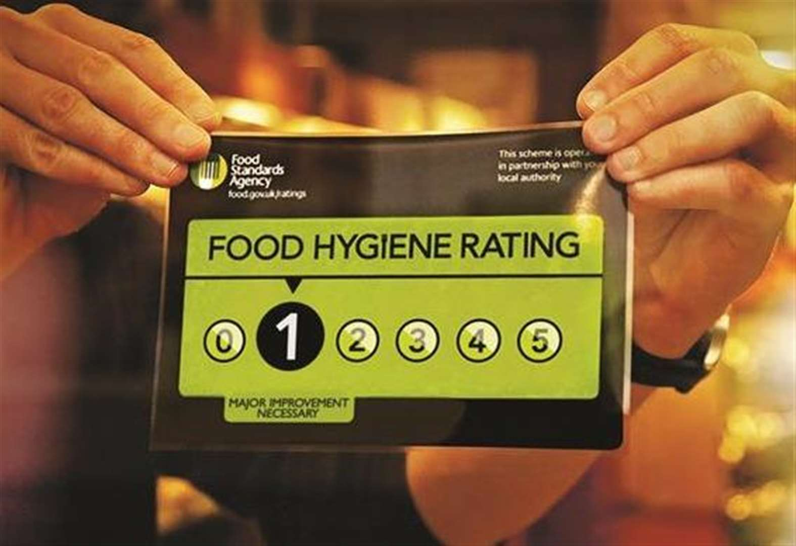 Asian takeaway handed damning food hygiene rating